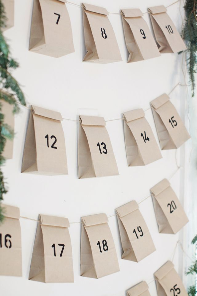 Joulukalenteri Ideoita