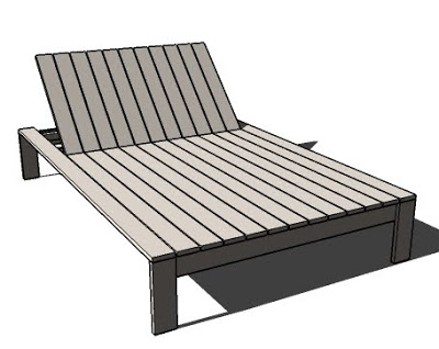 knockoffwood double lounger simple modern 2